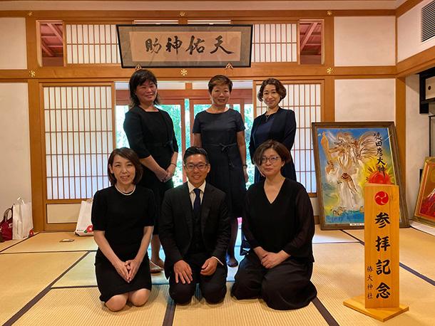 1泊2日 受取り力を拓く椿大神社研修